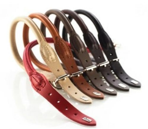 Best Rolled Leather Dog Collars